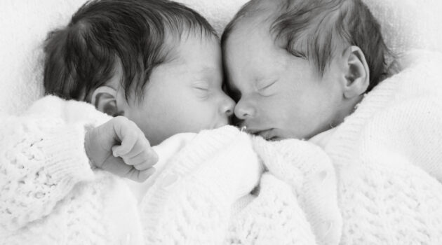 newborn twins asleep, the 3am club, getting babies back to sleep, baby sleep tips