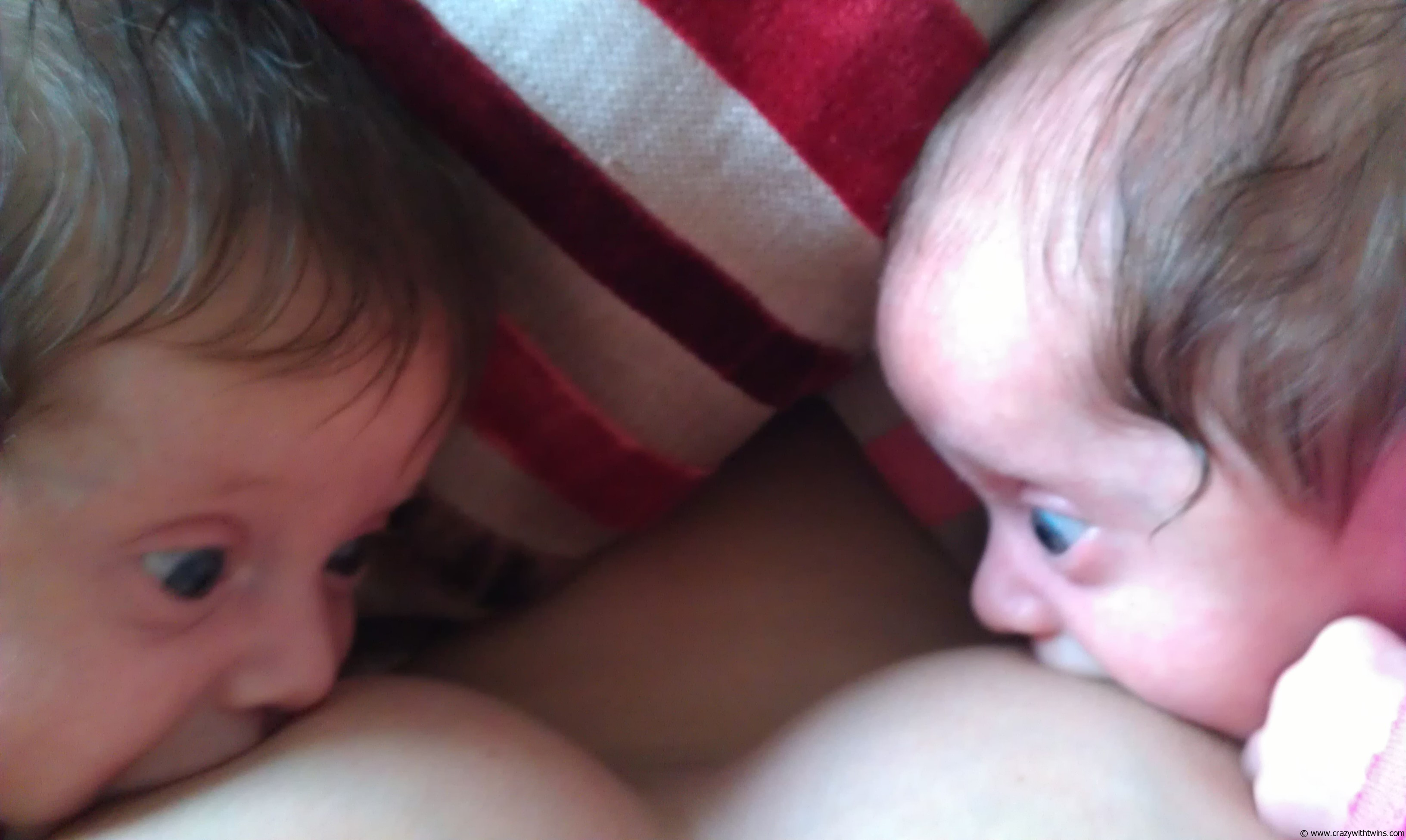 Breastfeeding my twins