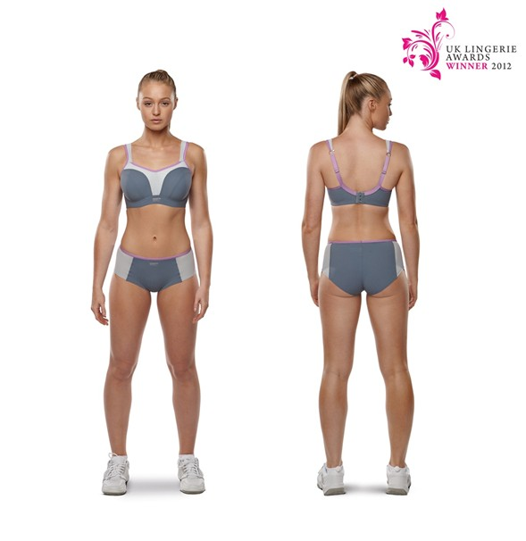 Here's a nice athletic Panache model in the bra instead - much better photo than me in it! Photo Credit: Panache Website