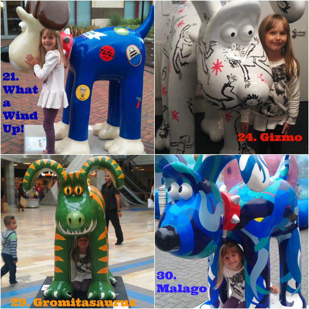 Gromit Unleashed Gromits 21, 24, 29, 30