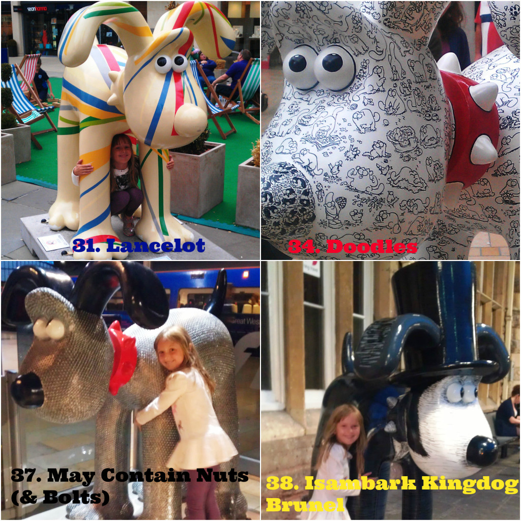 Gromit Unleashed Gromits 31,34,37,38