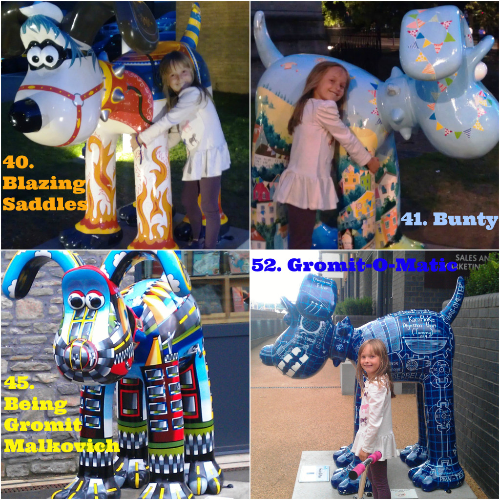 Gromit Unleashed Gromits 40,41,45,52