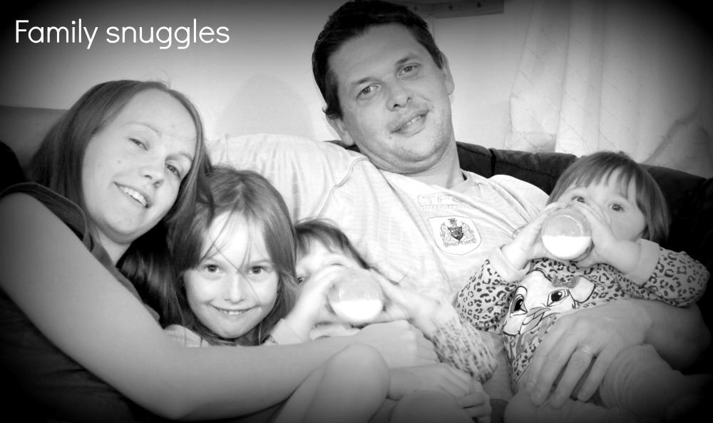 Family snuggles
