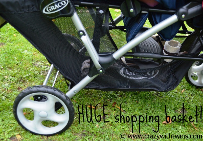 Graco Tandem - shopping basket