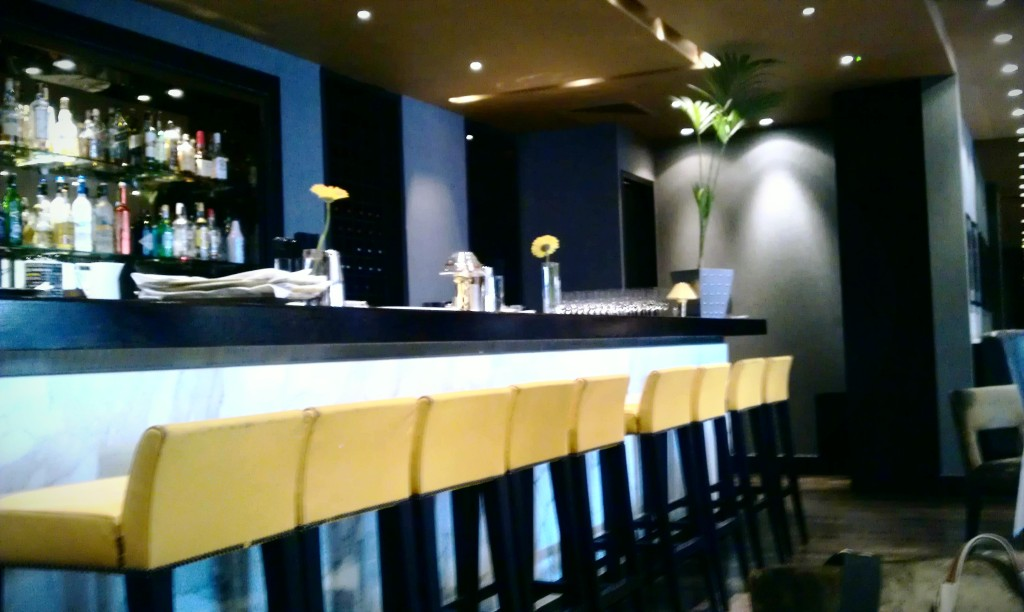 The Bar in Marco Pierre White's restaurant at Chelsea Football Club