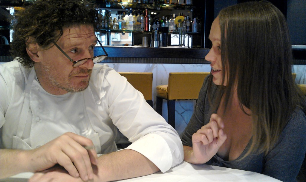 me and Marco Pierre White