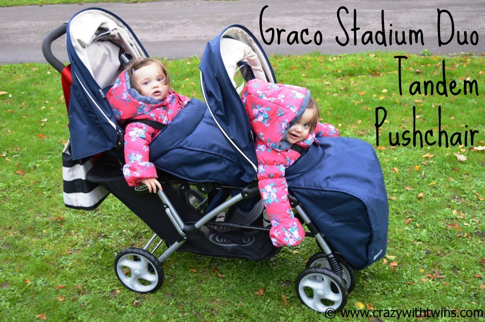 Graco Stadium Duo Tandem Pushchair Review