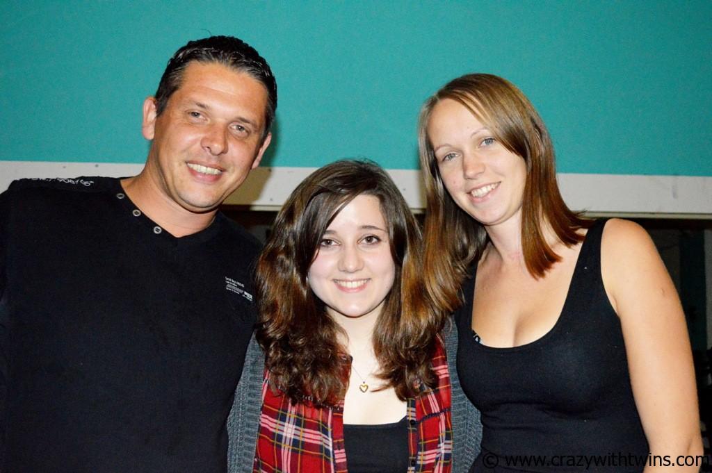 Left to Right:  Jonny, Emi, Me