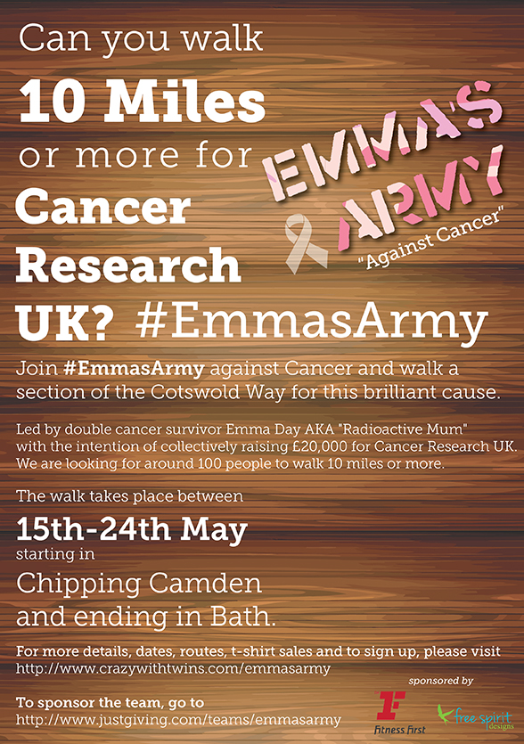 #EmmasArmy poster