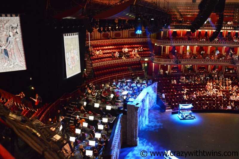 Orchestra at Royal Albert Hall