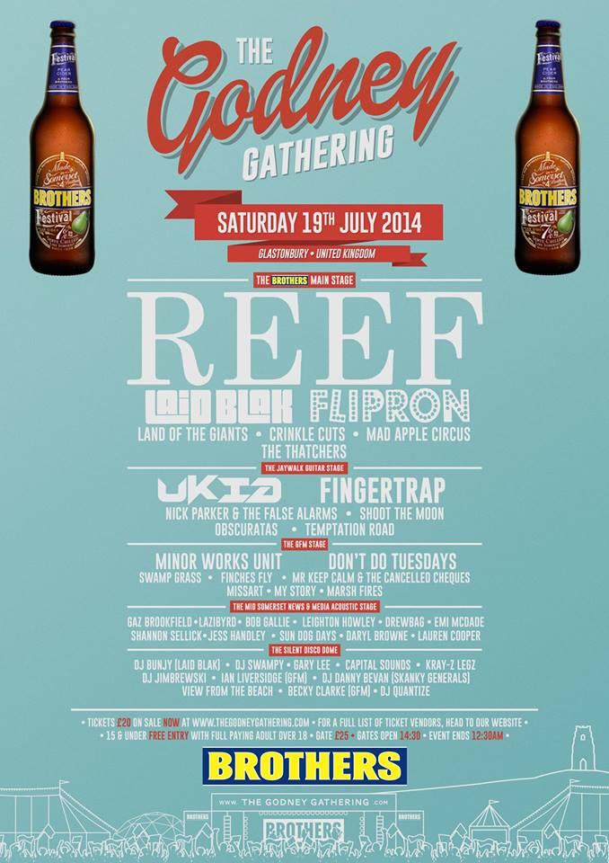 Godney Gathering 2014 poster