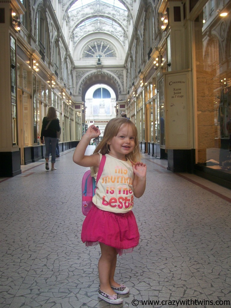 Bunny in France in September 2009 with her little backpack on.