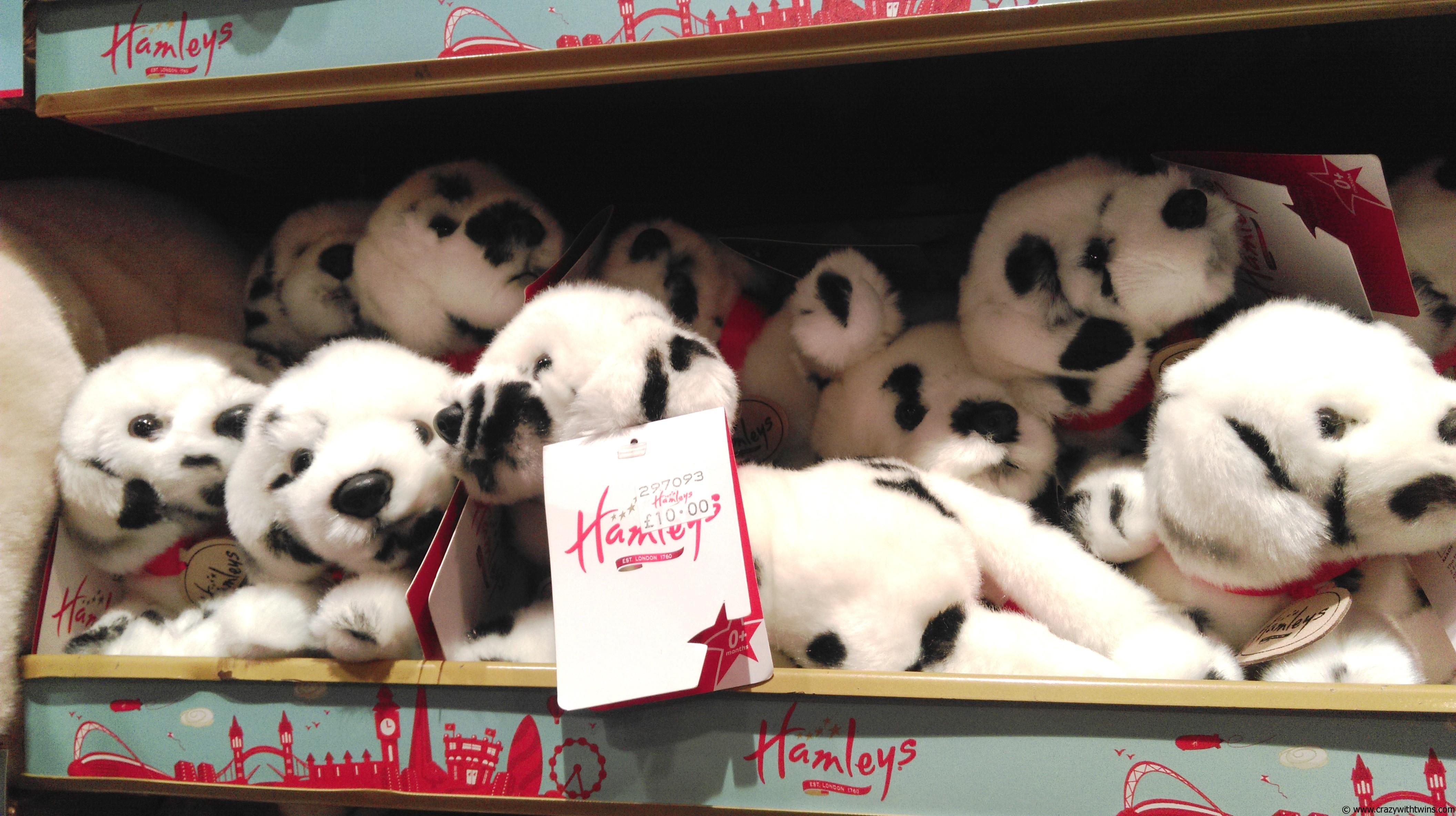 Dalmatian toys in Hamleys