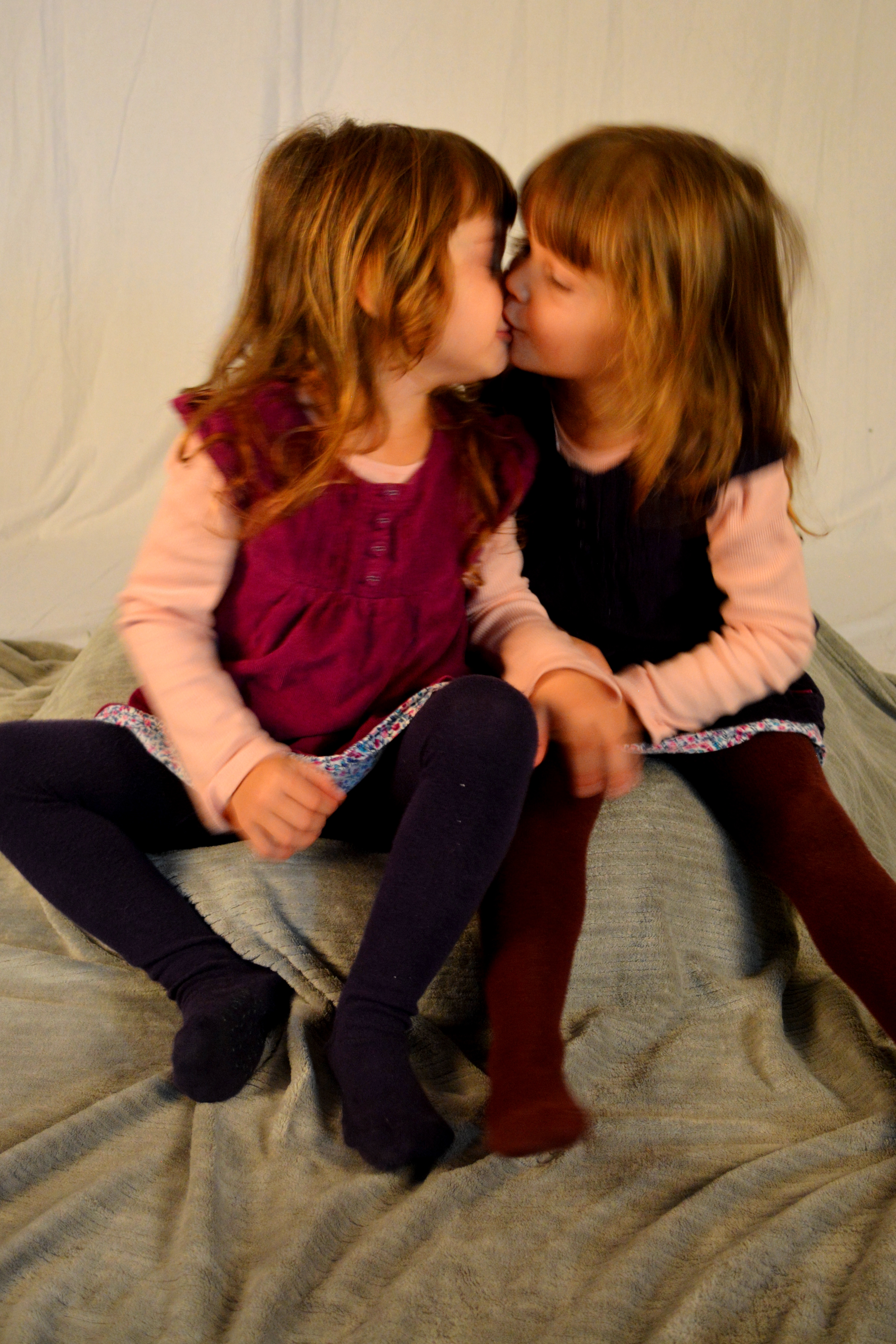 3 year old twins