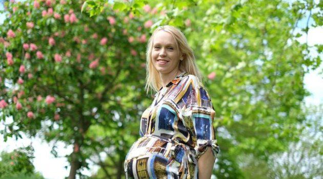 34 weeks pregnant,
