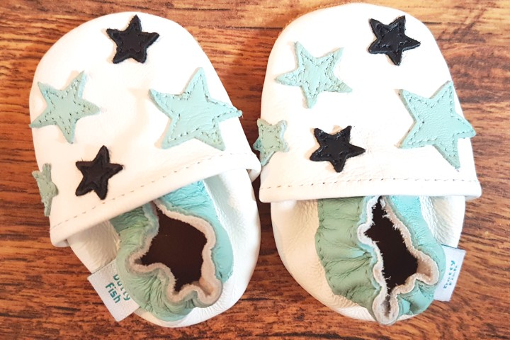 Dotty Fish baby shoes, Dotty Fish review