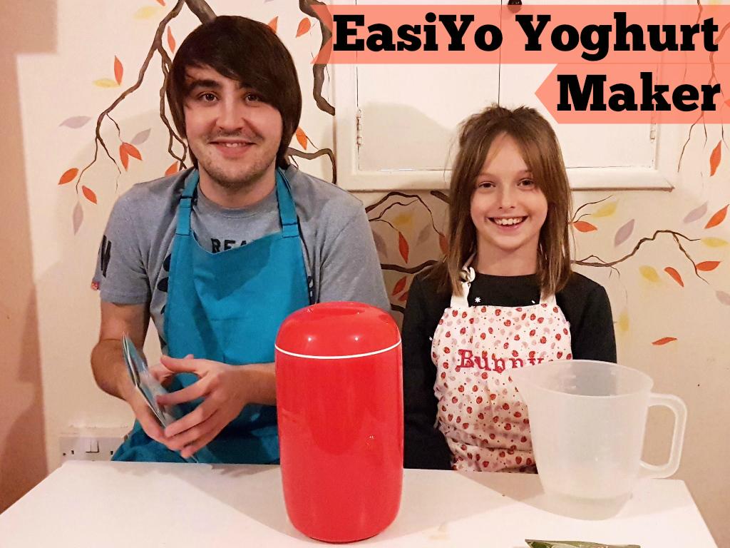 EasiYo yoghurt maker, yoghurt maker, homemade yoghurt