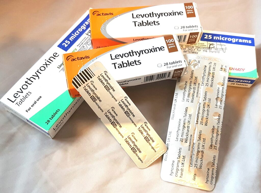 Levothyroxine, thyroid cancer, thyroxine, papillary thyroid carcinoma, the letter