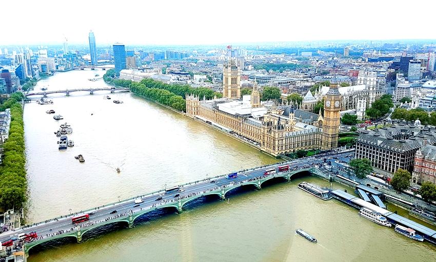 London attractions, London Eye