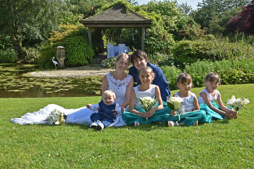 We eloped, elopement, eloping to Gretna Green, Gretna Green, Scotland, Greens at Gretna, The Water Gardens