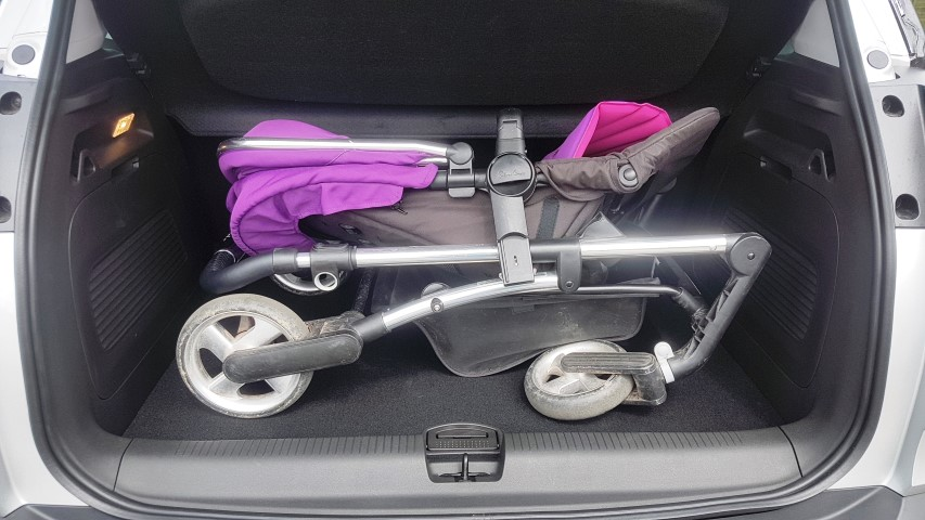 boot space in Vauxhall Crossland X