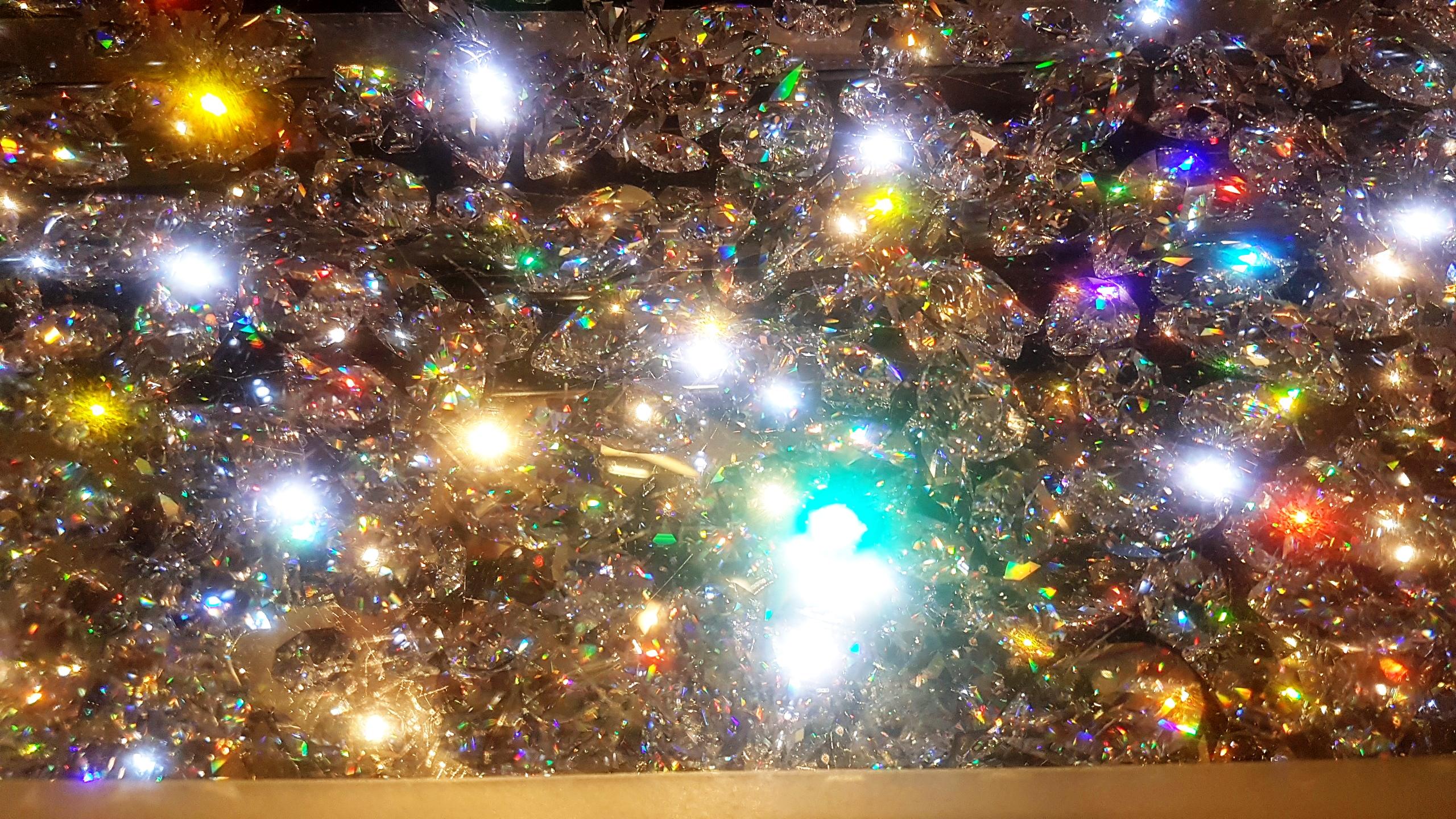 Swarovski crystal staircases, MSC Preziosa