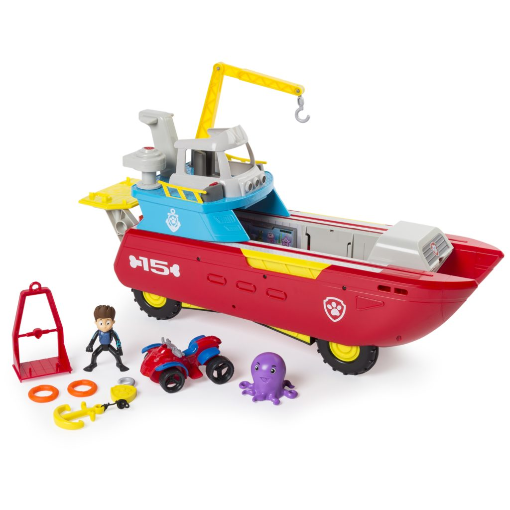 Dream Toys, Dream Toys list, Dream Toys 2017, Paw Patrol toys, Paw Patrol Sea Patroller, Sea Patroller