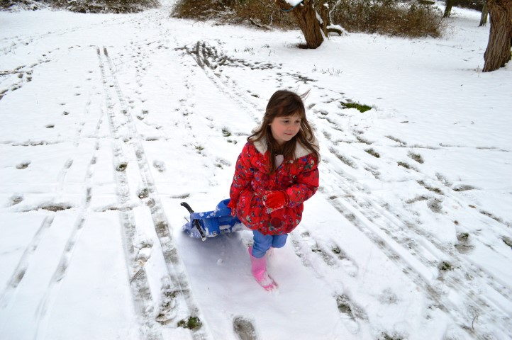 snow day, sledging, snow in gloucestershire, snow in cheltenham, children playing in the snow,