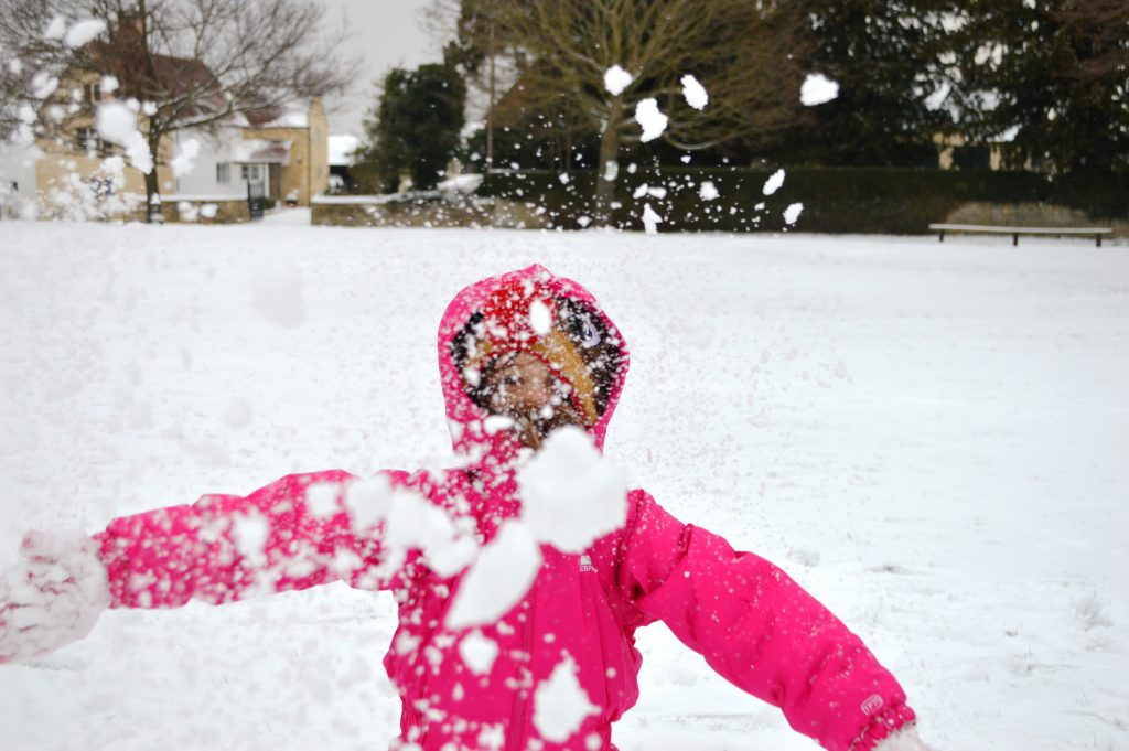 snowball fight, storm emma, the beast from the east, snow days, throwing snow