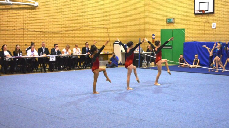 acro gymnastics, CDC competition, gymnastics competition, british gymnastics, CDC grade 2,