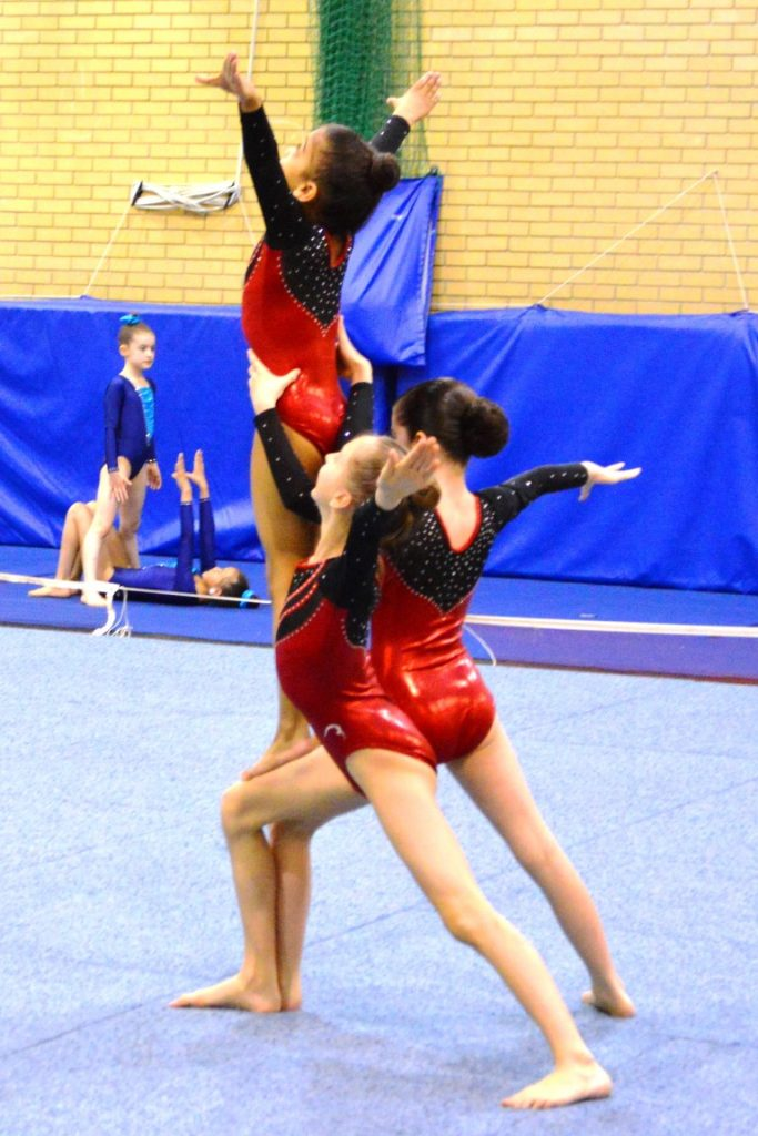 acro gymnastics, CDC competition, gymnastics competition, british gymnastics, CDC grade 2, acro gymnastics competition