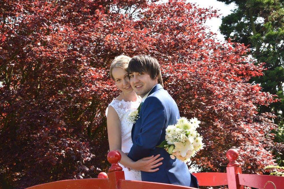 honeymoon plans, our wedding photo