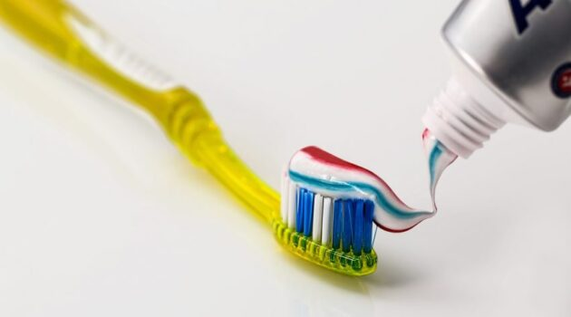 toothbrush with toothpaste, image to illustrate blog post about dentist phobia