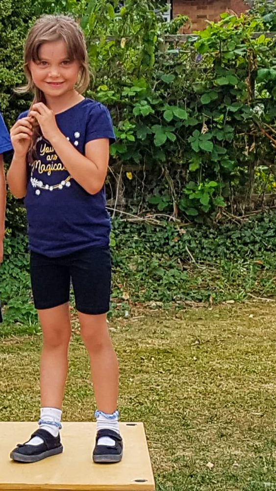 sports day, standing on the podium, school life, end of term