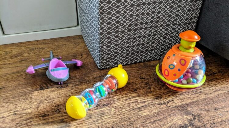 toys on the floor, how to keep your home looking nice when you have young children, family home