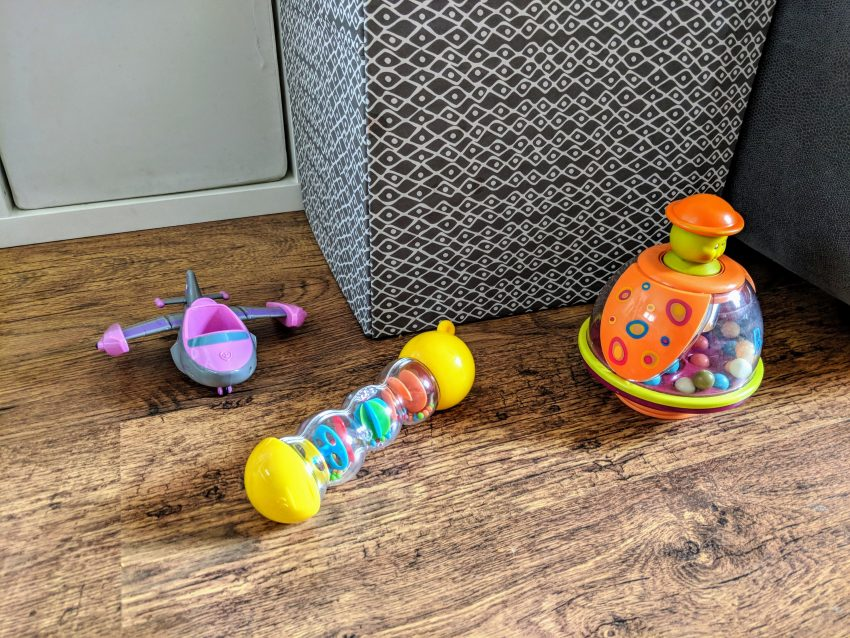 toys on the floor, blog post about how to keep your home looking nice when you have children, family home,