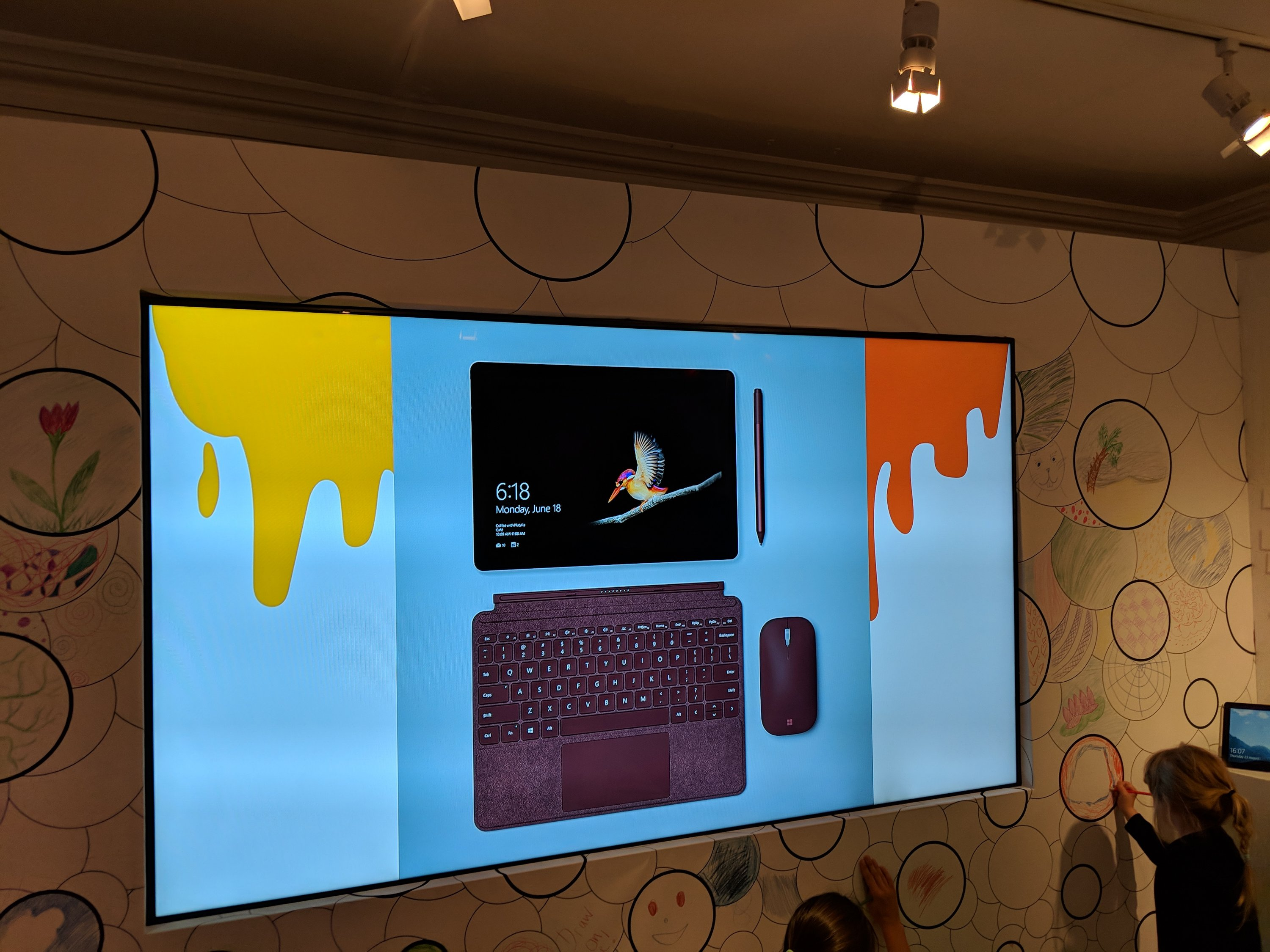 Images of the Microsoft Surface Go