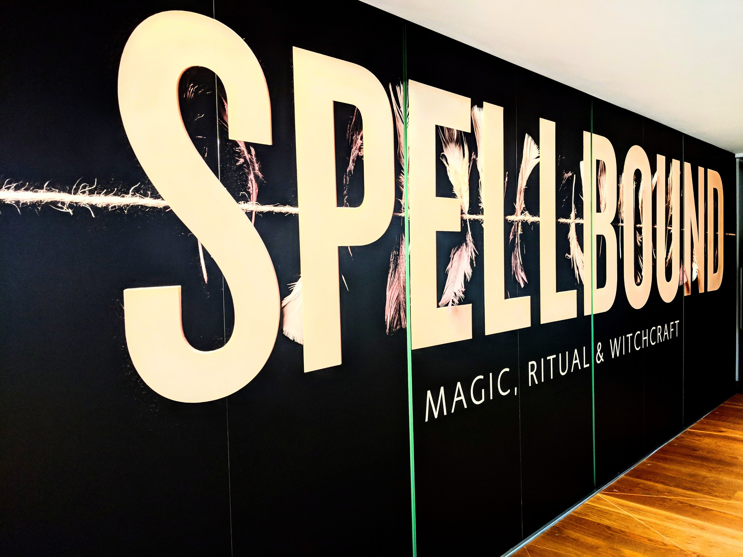 Spellbound exhibition of magic, ritual and witchcraft at the Ashmolean in Oxford, UK.