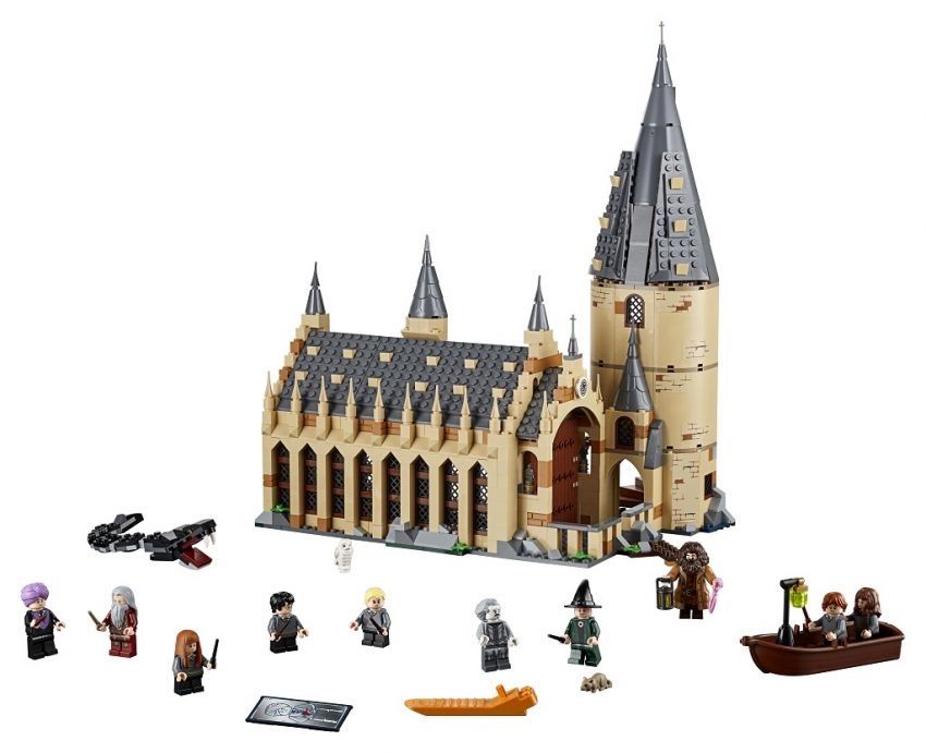 Lego Harry Potter Hogwarts Great Hall on the Dream Toys 2018 list of best toys to buy for Christmas