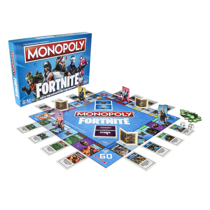 Monopoly Fortnite Edition on the Dream Toys 2018 list of best toys to buy for Christmas