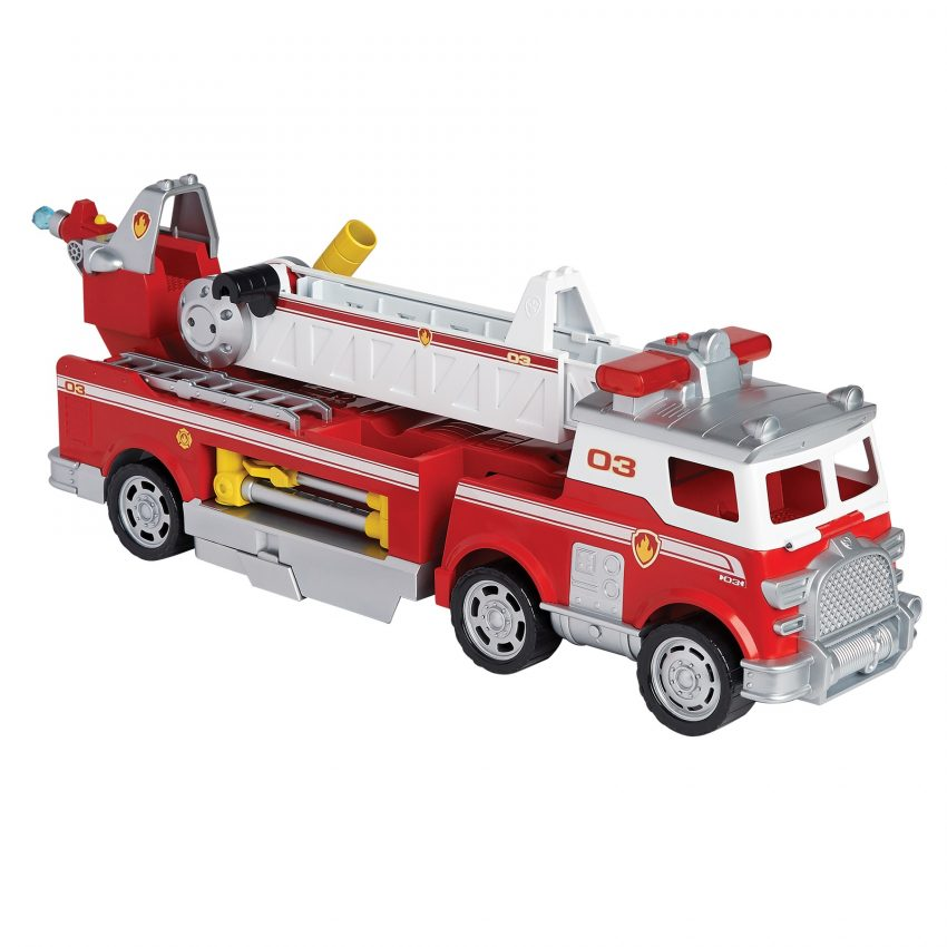 Paw Patrol Ultimate Fire Truck on the Dream Toys 2018 list of best toys to buy for Christmas