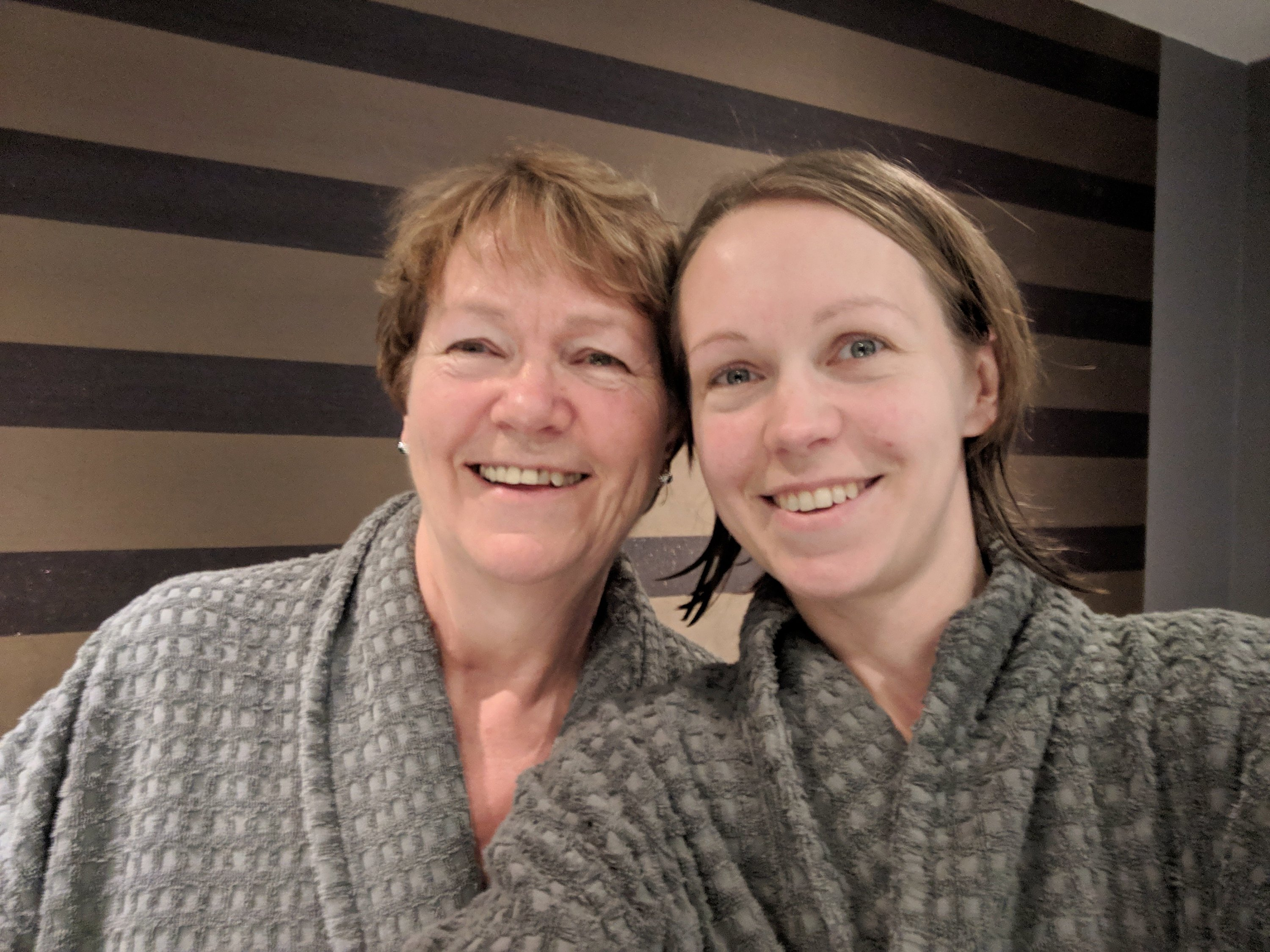 spa day with my mum at The Village Spa in Swindon