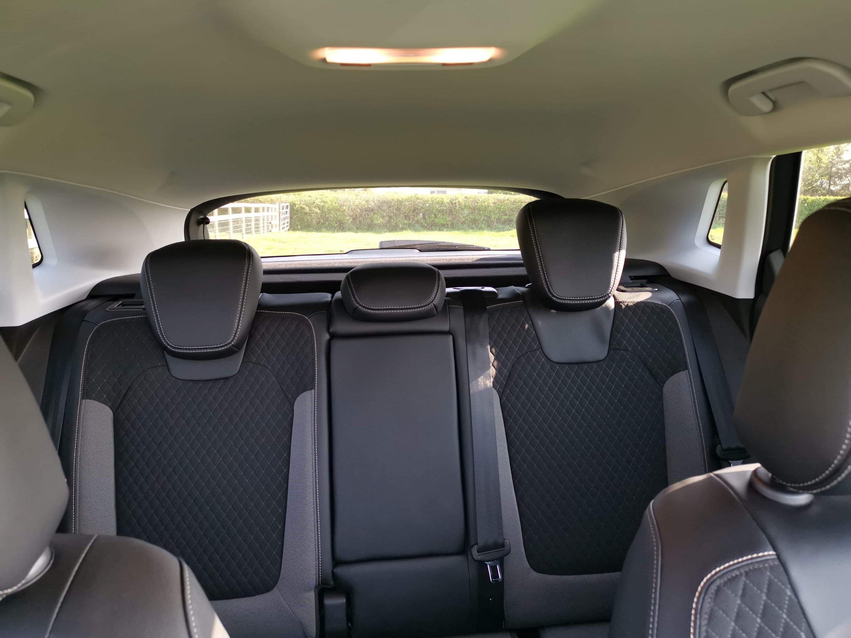 Vauxhall Grandland X back seats