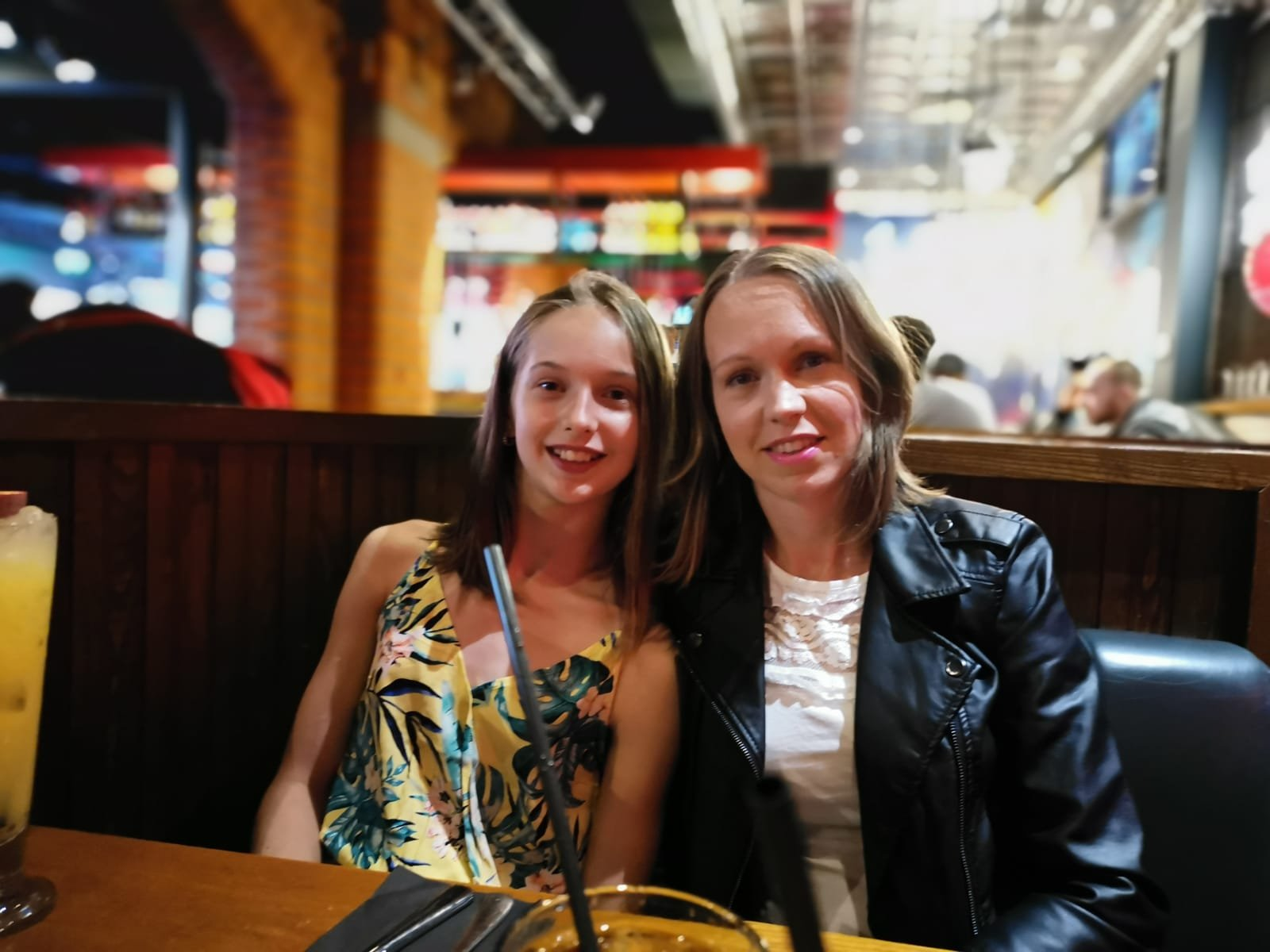 Myself and My daughter celebrating her 12th Birthday at TGI Fridays